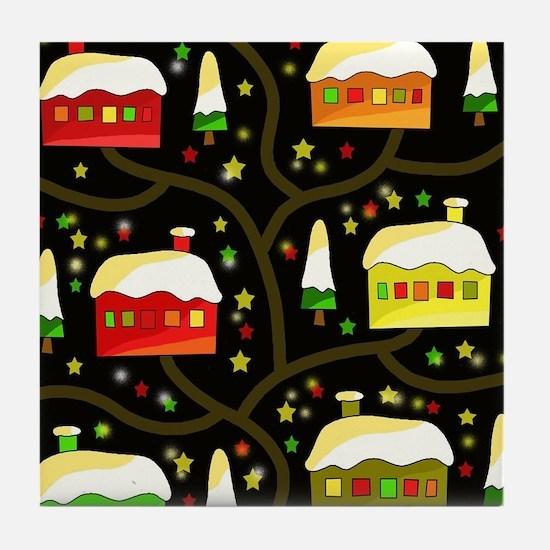 Funny Landscape of the soul Tile Coaster