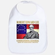 Robert E Lee Baby Bib