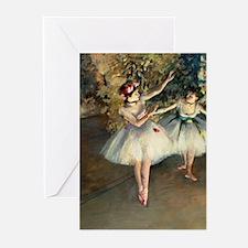 K/N Degas 2Dan Greeting Cards