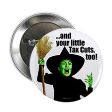 "Witch Hillary Taxes 2.25"" Button (10 pack)"