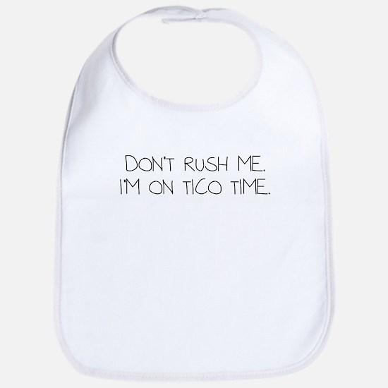 tico time Baby Bib