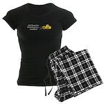 Christmas Loader Women's Dark Pajamas