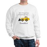 Christmas Loader Sweatshirt