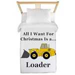 Christmas Loader Twin Duvet
