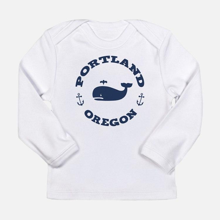 Portland Whaling Long Sleeve T-Shirt