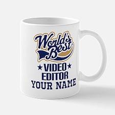 Video Editor Personalized Gift Mugs