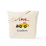 I Love Loaders Tote Bag