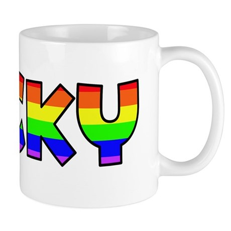 Ricky Gay Pride (#004) Mug