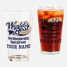 Orthopedic Surgeon Personalized Gift Drinking Glas
