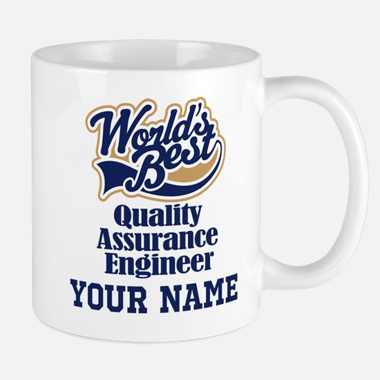 Quality Assurance Engineer Personalized Gift Mugs