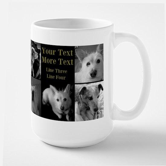 Personalize These Designs Large Mug