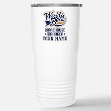 Warehouse Manager Personalized Gift Travel Mug