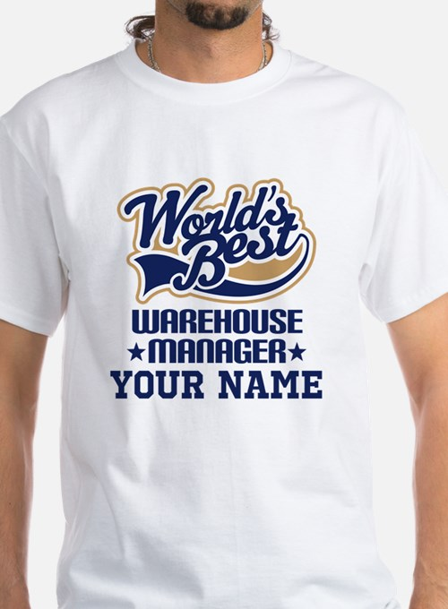 Warehouse manager t shirts shirts tees custom for Custom t shirts personalized gifts