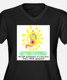 Gutbusters Superpower Plus Size T-Shirt