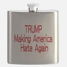 Trump Making America Hate Again Flask