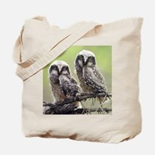 Laughing owl Tote Bag