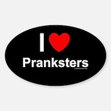 Pranksters Sticker (Oval)