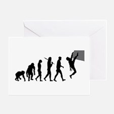Rock Climbing Greeting Cards