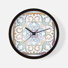 Moroccan Style Metallic Geometric Patte Wall Clock