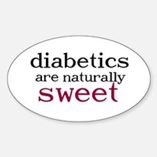 Naturally Sweet Oval Bumper Stickers