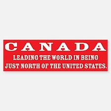 Canada Bumper Bumper Bumper Sticker