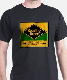 Reading Bee Lines Ash Grey T-Shirt