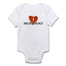 I Love Archaeology Infant Bodysuit