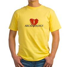 I Love Archaeology T