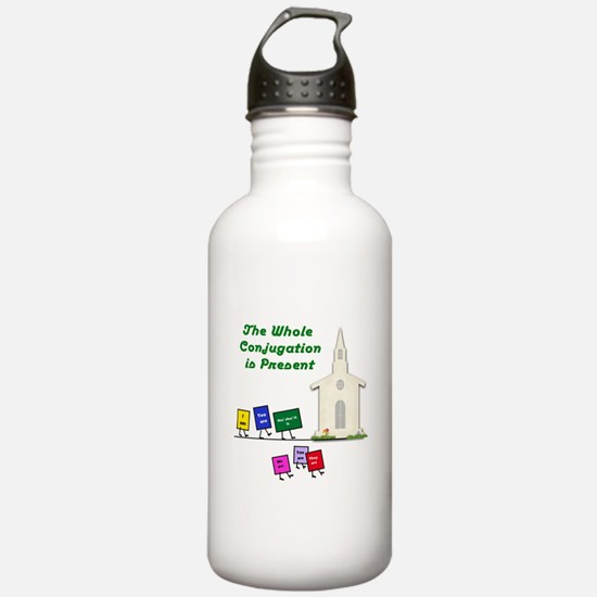 The Whole Conjugation Water Bottle