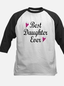 Best Daughter Ever Baseball Jersey