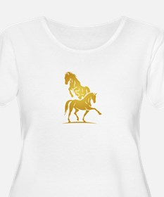 i love horse Plus Size T-Shirt