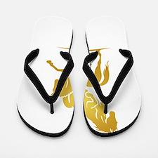 i love horse Flip Flops