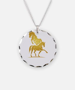 i love horse Necklace