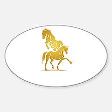 i love horse Decal