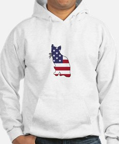 American Flag - Cat Sweatshirt