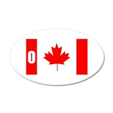 O Canada Wall Decal