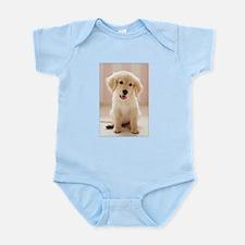 Golden Retriever Pup Infant Bodysuit