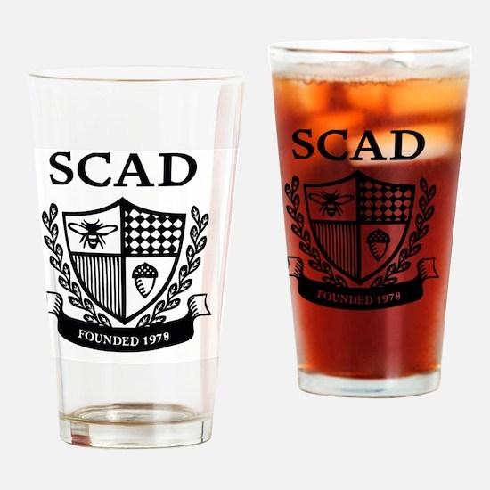 Funny Savannah Drinking Glass