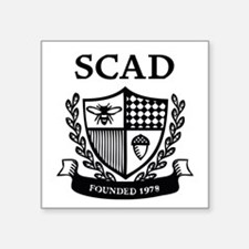 SCAD Crest Sticker