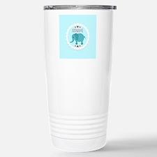 Personalized Name Eleph Travel Mug