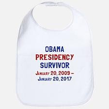Obama Presidency Survivor Bib