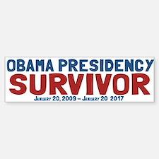 Obama Presidency Survivor Sticker (Bumper)