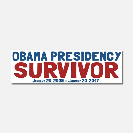 Obama Presidency Survivor Car Magnet 10 x 3