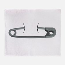 Safety Pin Throw Blanket