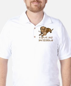 dachshund Golf Shirt