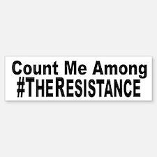 The Resistance Bumper Bumper Bumper Sticker