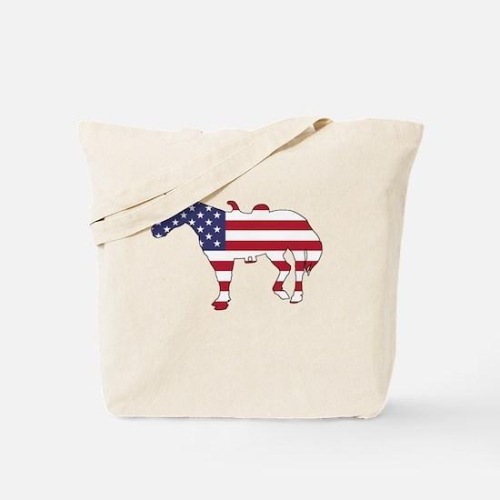 Cute Patriotic women Tote Bag
