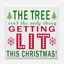 The tree isn't the only thing getting lit this Chr