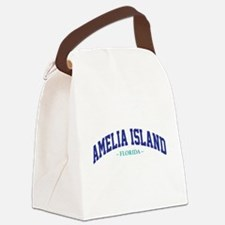 Amelia Island Florida Athletic St Canvas Lunch Bag