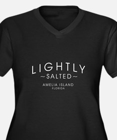 Lightly Salted Amelia Island Flo Plus Size T-Shirt